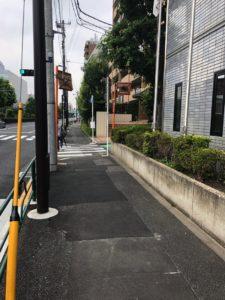 横断歩道の次
