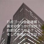日産ゴーン会長逮捕